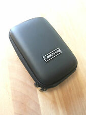 Black Compact Universal Hard Shell Case Zip Bag for Small Digital Camera