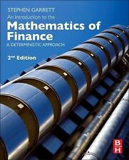 An Introduction to the Mathematics of Finance: A Deterministic Approach by Steph