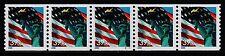 #3979 Flag & Liberty  WAG  PNC-5  Pl #S1111 - MNH