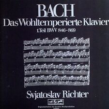 J. S. Bach: Das Wohltemperierte Klavier - Sviatoslav Richter (CD Used Very Good)