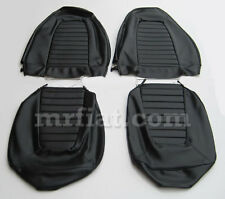 Fiat X1/9 Black Seat Covers Set New