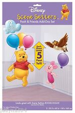 POOH & FRIENDS SCENE SETTER ADD ONS PARTY DECORATION BALLOONS PHOTO BOOTH PIGLET