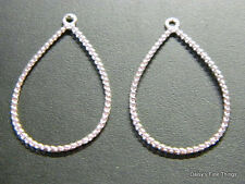 NEW! AUTHENTIC PANDORA EARRINGS SILVER RAINDROPS COMPOSE #290640