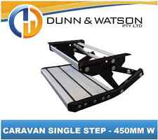 Pull Out / Drop Down Caravan / RV Single Step - 450mm (Pullout, Motorhome)