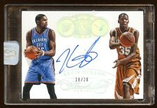 2014 FLAWLESS KEVIN DURANT AUTOGRAPH #D 20 AUTO  BEAUTIFUL MINT SEAL  WORRIORS