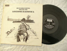 BLUES OBSCURITIES LP VOLUME TWO LONESOME HARMONICA London 8455 EX+..... 33rpm