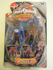 POWER RANGERS OPERATION OVERDRIVE BLUE ZORD RANGER TRASFORMABILE IN SPADA