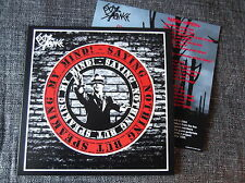 "EXIT STANCE saying nothing but speaking my mind 12"" anarcho punk conflict"