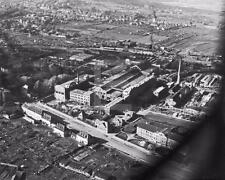 1945 WW2 Aachen Germany Aerial View WWII Photo FL128