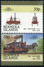 1830 Tom Thumb (B&O Baltimore & Ohio Railroad) Train Stamps (Bernera)