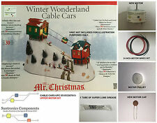 Mr Christmas Winter Wonderland  Cable Cars - REPLACEMENT PARTS -UPPER MOTOR KIT