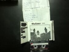 gallows(isreal) self titled demo advanced copy w/letter1993 cassette death metal
