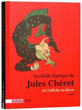 Vintage Poster Book Jules Cheret Art Nouveau Circus Theatre French Arts Dance