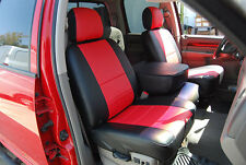 DODGE RAM 1500 2500 3500 2003-2016 IGGEE S.LEATHER CUSTOM SEAT COVER 13 COLORS