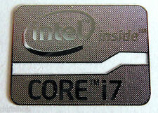 Intel Core i7 Inside metal Sticker 15.5 x 21mm [902]