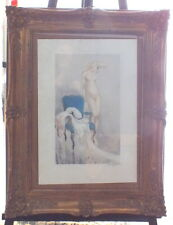 Louis Icart lithographie Fair Model 1937 point seche aquatinte signée
