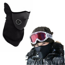 Black Neck Warm Face Mask Winter Ski Snowboard Motorcycle Bicycle Unisex New