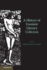 A History of Feminist Literary Criticism  Books-Good Condition