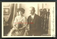 William of Wied King of Albania Queen Sophie rppc 1914