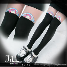 japan LOLITA Miyazaki Hayao Ponyo On The Cliff layer look pantyhose【J1D016】