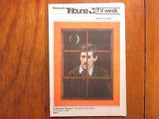 Oct 17-1982 Minneapolis Tribune TV Mag(IAN McKELLEN/FALCON CREST/MICHAEL HORDERN