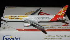 """GEMINI Jets 1/400 b767-300 Qantas """"Wallabies"""" VH-OGL"""