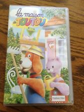 "BBC Kids Vhs Video 1966 Hector's House ""La Maison De Tou Tou"" - Poly gram Video"
