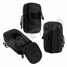 VISM NcSTAR Tactical Accessory MOLLE PALS Large Utility Storage Tool Pouch Black