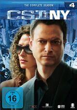 CSI : NY NEW YORK DIE KOMPLETTE DVD SEASON / STAFFEL 4 DEUTSCH
