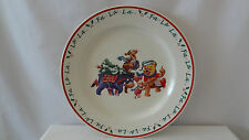 Winnie the Pooh and Piglet and Tigger and Eeyore Christmas Large Plate #B877
