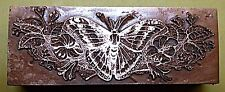 "A ""BEAUTIFUL BUTTERFLY"" BOOKPLATE Printing Block"