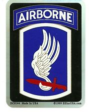U.S. ARMY 173RD AIRBORNE VETERAN  window sticker decal MADE IN USA