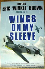 Wings on My Sleeve by Captain Eric Brown (Paperback 2007)