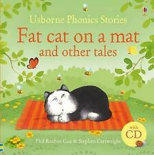 Fat Cat on a Mat and Other Tales: And Other Stories by Phil Roxbee Cox( NO CD)