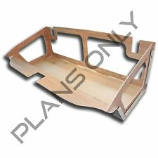 Alien Enclosures 70-72 Chevelle Custom Trunk Panel TEMPLATE / PLANS (Malibu, SS)