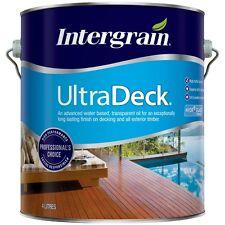 Intergrain 4L UltraDeck Merbau Water Based Decking Oil