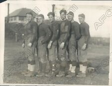 1926 Manhattan College Football 3 Sets of Brothers Played on Team Press Photo