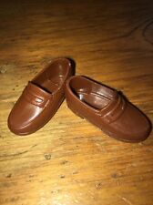 Barbie Ken Tan Brown Penny Loafers Dress Casual Shoes Dockers