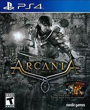 %PS4 Arcania The Complete Tale NEW Sealed Battle for Argaan Free Shipping!%