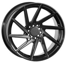 BLACK 20X8.5 +35 20X10 +38 F1R F35 5X114.3 WHEEL Fits LEXUS GS450 ES350 SC430