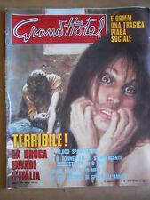 GRAND HOTEL n°46 1978 Paolo Giusti - Speciale droga piaga sociale  [GS50]