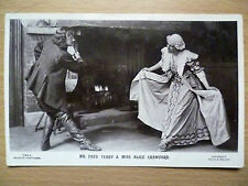 .1908 Theatre Postcard:Fred Terry & Alice Crawford (+Stamp)