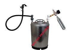 CO2 Beer Tap Full System Kegerator Keg Faucet Hose Cornelius Gas Regulator Pump