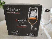 Accademia Luigi Bormioli-vinoteque Smart 270 - 6 pezzi in scatola regalo.