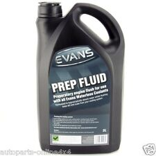 Evans Waterless Coolant Prep Fluid Engine Flush For All Cars - 5 Litres- RA4754