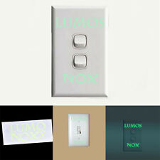 1 Pcs LUMOS & NOX Luminous Switch Wall Sticker Funny Abracadabra Home Decor EF