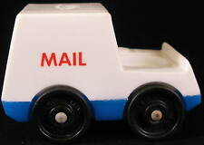 VINTAGE Fisher Price LITTLE PEOPLE Play Family VILLAGE #997 MAIL TRUCK Post 1973