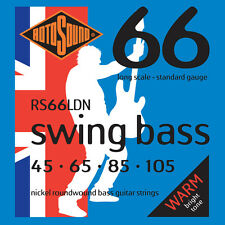 Rotosound RS66LDN Swing Bass Nickel Standard Gauge Electric Bass Strings