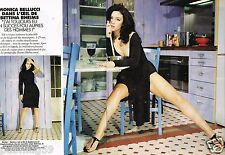 Coupure de Presse Clipping 1996 (4 pages) Monica Bellucci par Bettina Rheims