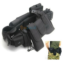 Duty 10 in 1 Belt Tactical Security Police Law Enforcement Equips Nylon Rig Gear